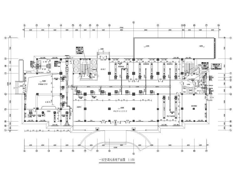 武汉市某科研大楼暖通设计施工图