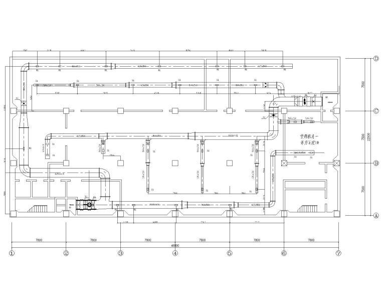 重庆十四层酒店综合楼暖通施工图