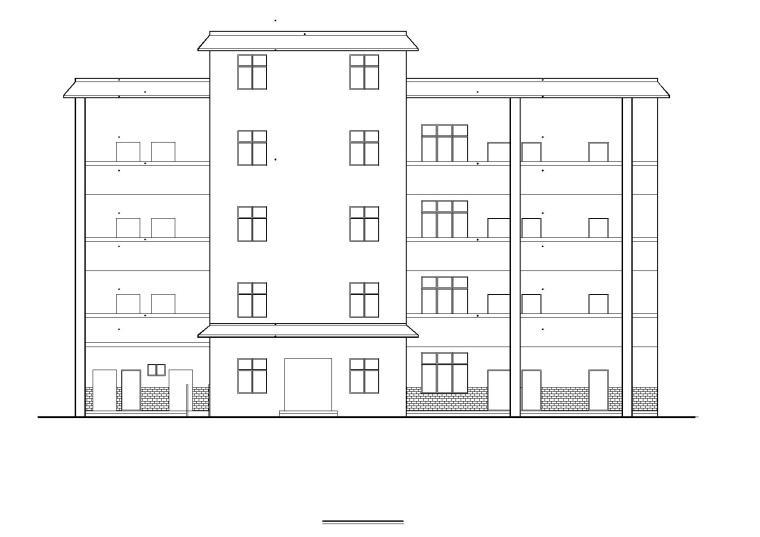 [贵州]新店镇鸭甸河小学综合楼建筑施工图