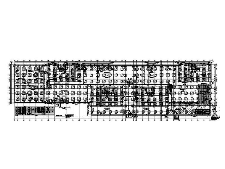 公寓+办公塔楼框架剪力墙结构施工图含建筑