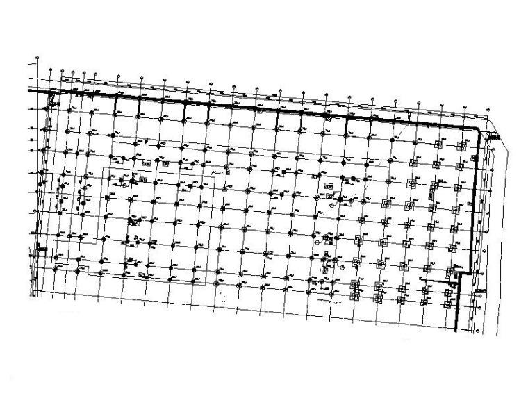 4层框架结构商业街结构施工图2015