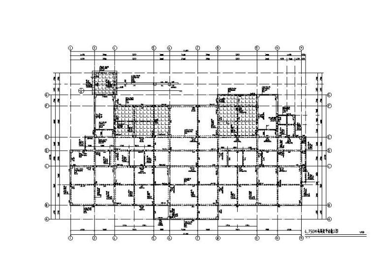 [清镇]3层幼儿园综合楼框架结构施工图2019