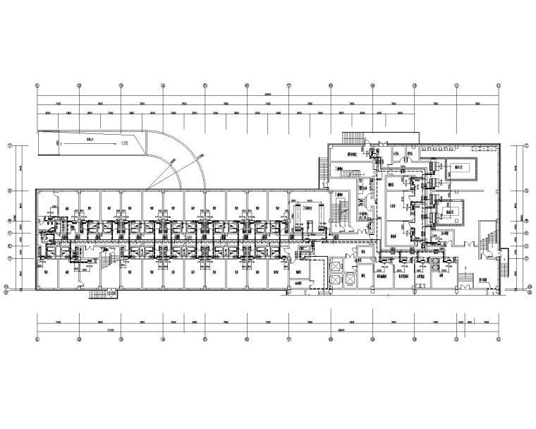 江苏九层酒店地源热泵空调系统设计施工图