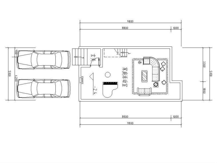 三层合院住宅建筑住宅楼设计图