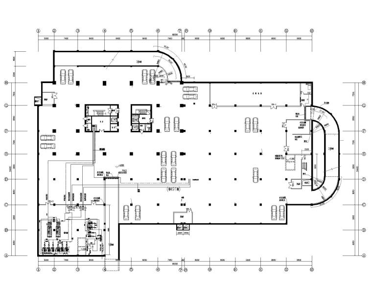 合肥二十六层办公楼暖通设计施工图