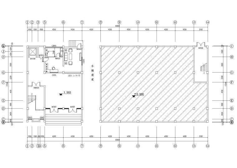综合业务办公用房维修改造施工图+改造清单