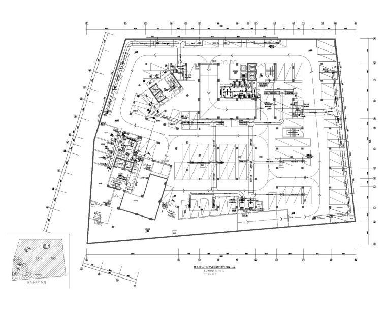 广州十三层商业办公酒店综合大楼暖通施工图