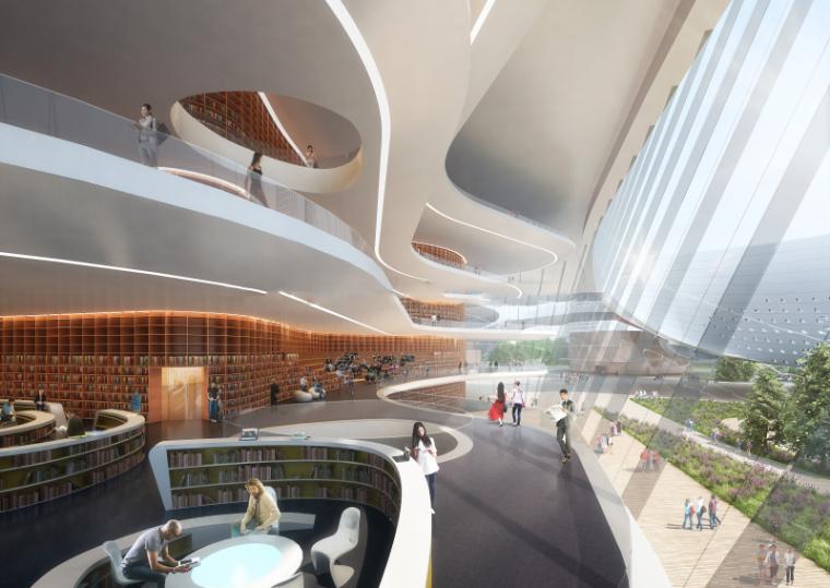 [江苏]镇江文化科技创意中心建筑模型设计