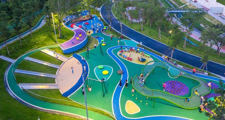 儿童活动场地景观设计