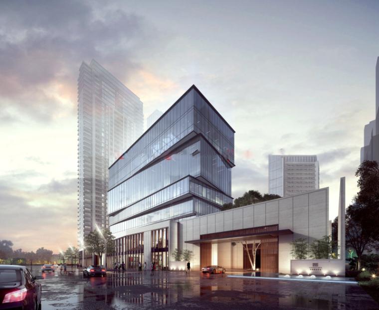 [浙江]现代风格滨江豪宅建筑模型设计