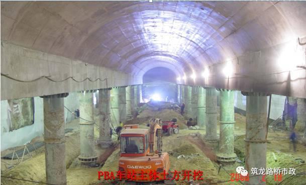 地铁暗挖施工现场技术管理+施工工法