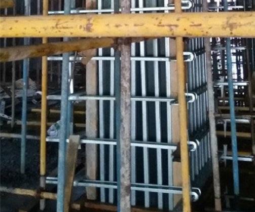 方柱加固件的实施方案