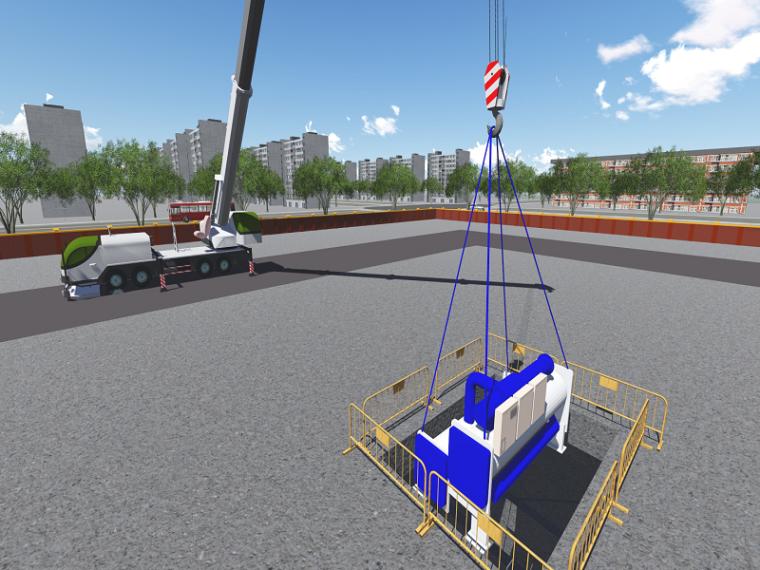 超高层建筑材料设备进场、堆放及运输方案