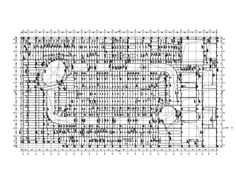 4层知名商业广场全套施工图_建筑结构人防