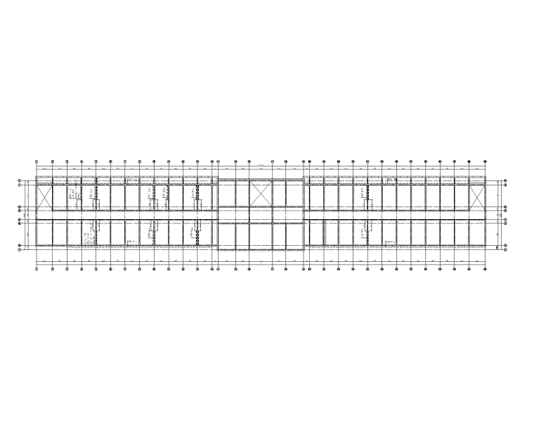 6层砖混楼加建阳台立面改造砖墙加固施工图