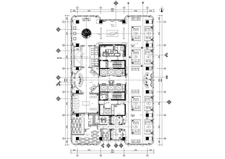 [北京]-GBD北京万科售楼处全套CAD施工图