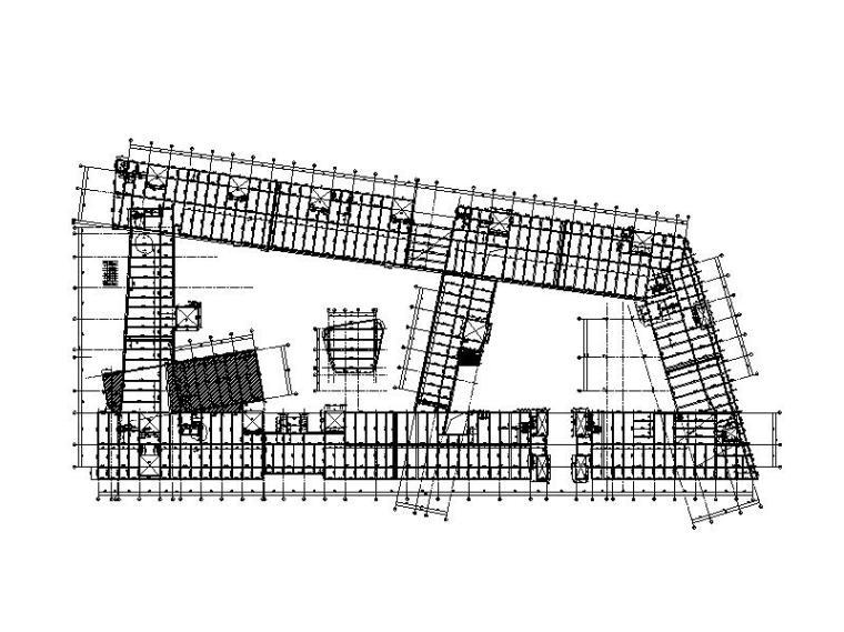 教室+实验室+报告厅结构施工图(预应力梁)