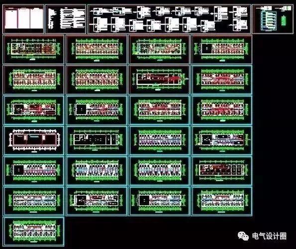 全套电气图纸设计规范,新手请收藏!