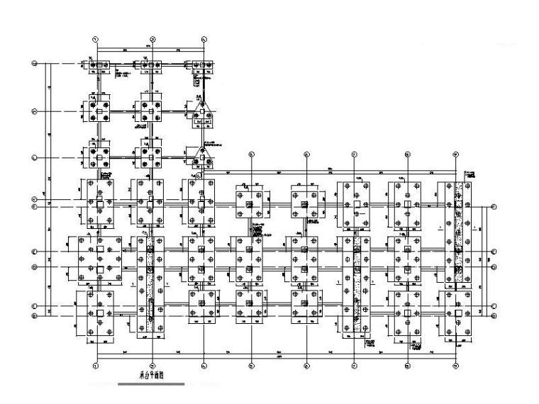 [宿迁]6层办公楼框架结构施工图(实心方桩)