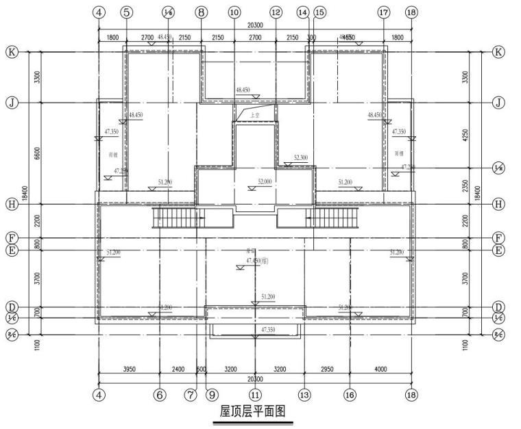 屋頂平面圖
