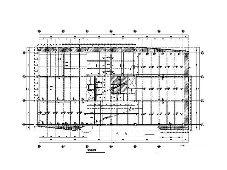12层科技研发中心框剪结构施工图(含建筑)