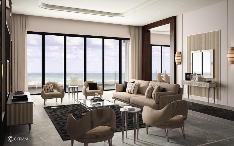现代中式轻奢家具•意大利品牌软装搭配设计