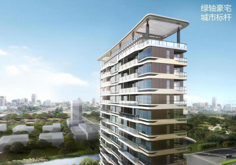 [浙江]现代高层豪宅规划+建筑设计文本
