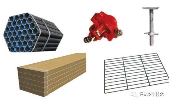 建筑工程外脚手架搭设标准全面图解,实用!