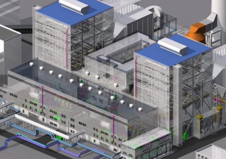 热电站改造项目BIM设计应用ppt(67页)