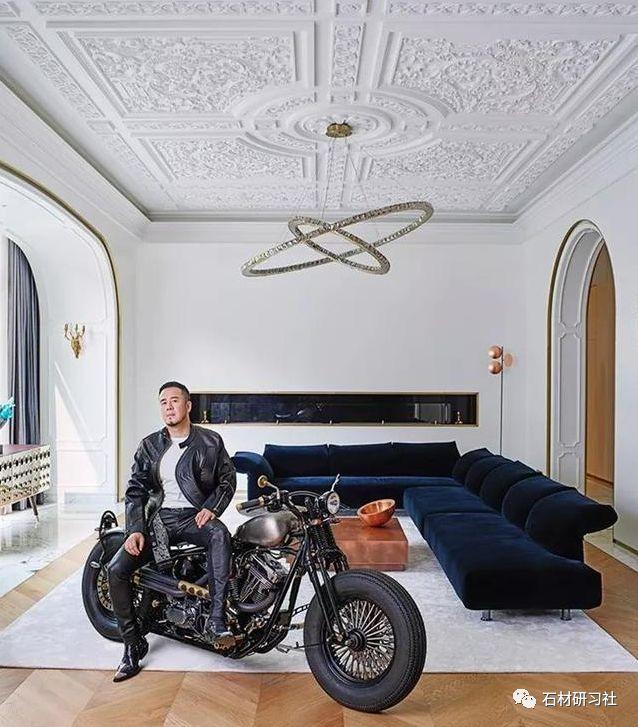 杨坤新家曝光,精妙的设计与大理石完美融合