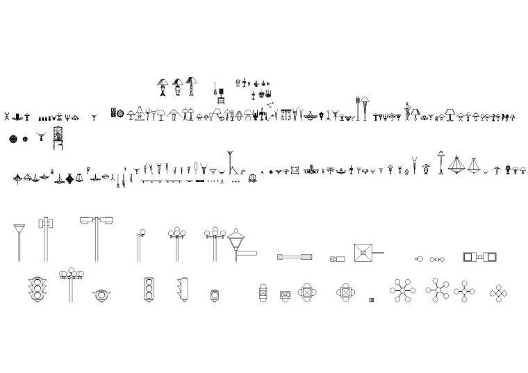 高文安设计公司-精品CAD详细图库