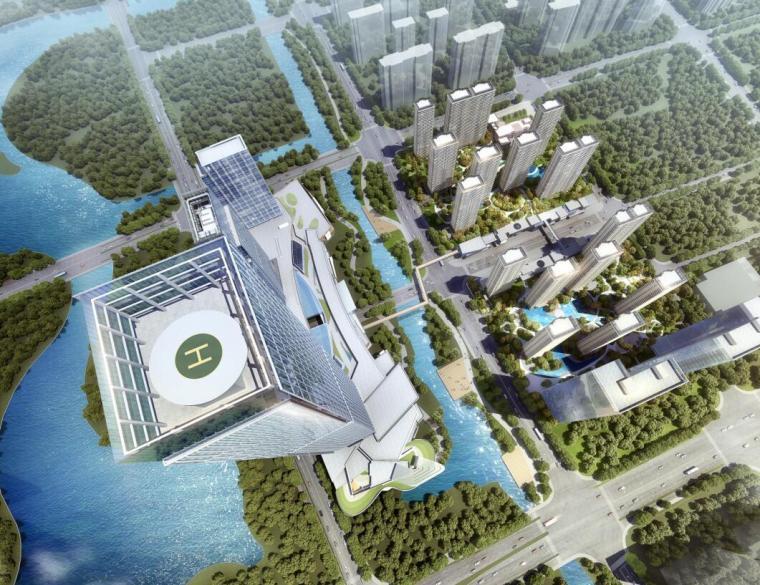 [浙江]余杭现代风格高层住宅建筑方案文本