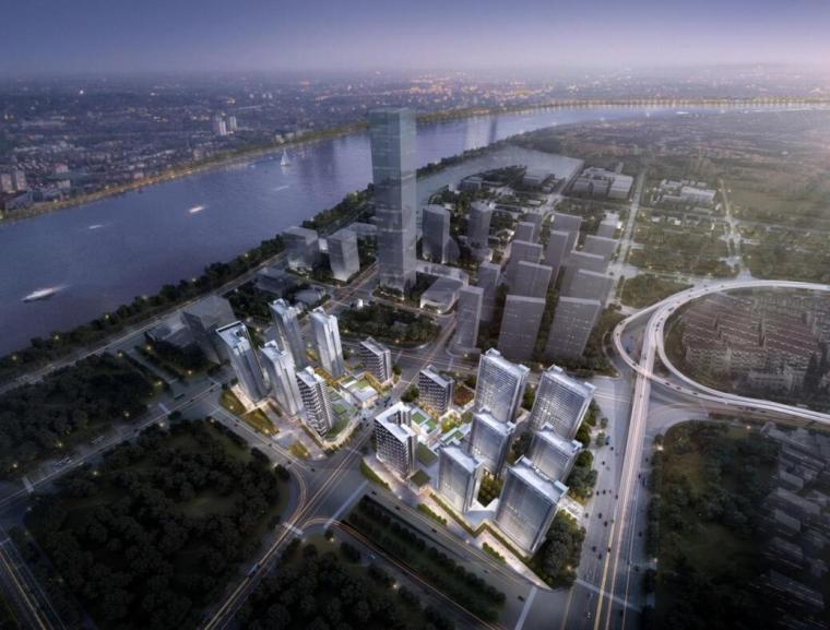 [上海]后滩现代风格租赁住房建筑方案文本