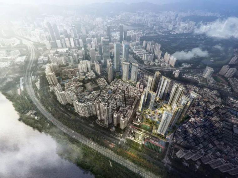 Aedas新作|深圳市中心最大旧城改造