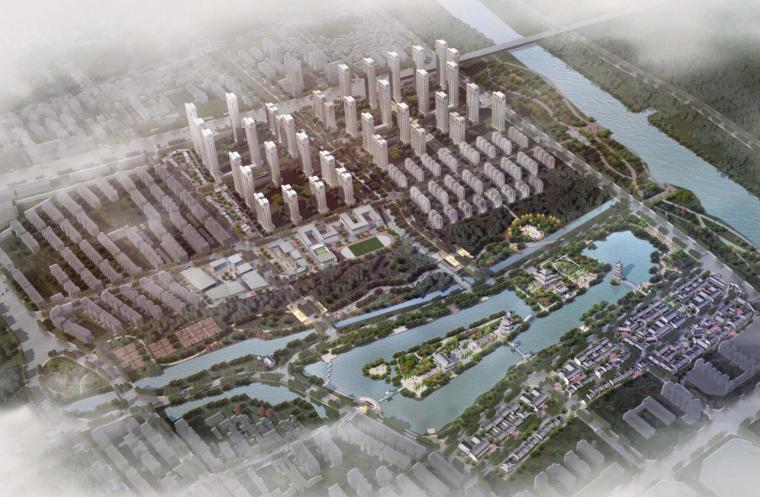 [福建] 中式顺昌新天地住宅规划方案文本