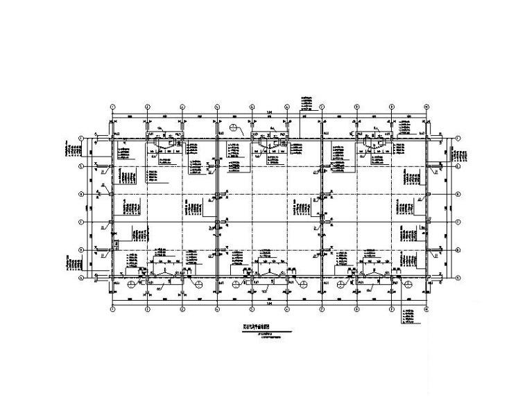 粮食储备仓库及粮食物流设施项目结构图纸