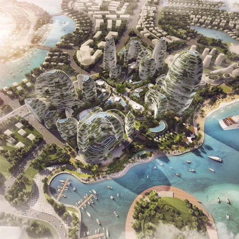 10个建筑对「未来城市」的想象
