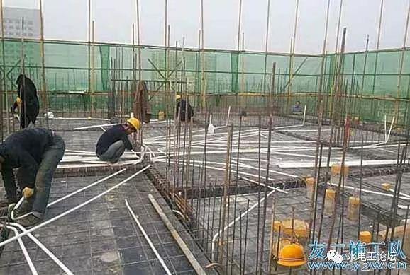 建筑施工中,建筑电工线管预埋的入门方法!送给刚接触这行业的你