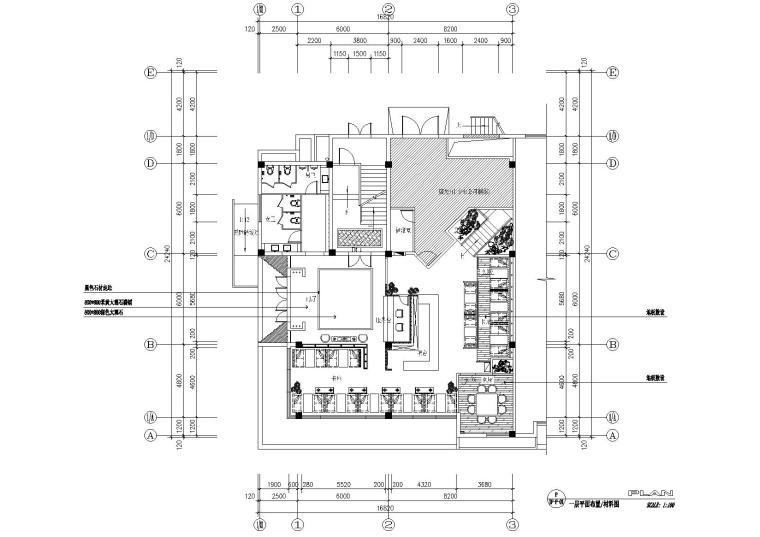 [江苏]国泰四季花园茶楼装饰施工图+效果图
