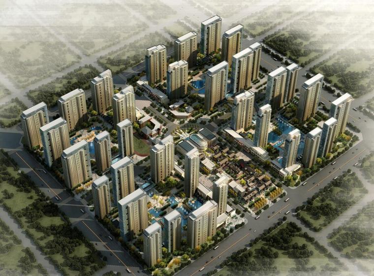 [北京]现代风格万科住宅建筑方案文本