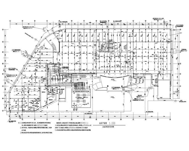 十一层宾馆给排水设计施工图