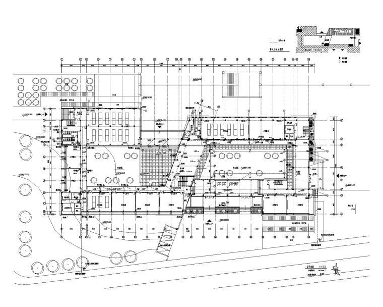 安徽黄山学院综合实验楼给排水施工图