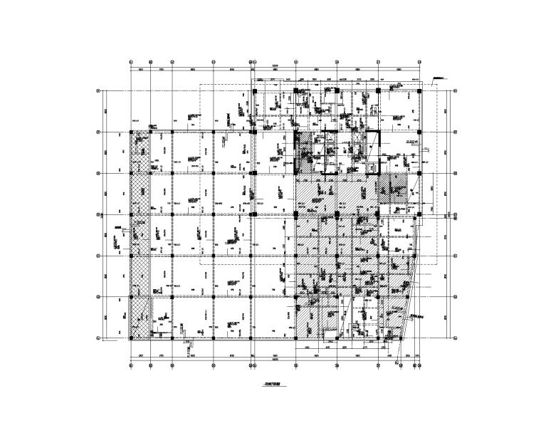 17层科研服务配套楼框剪结构施工图(含建筑)