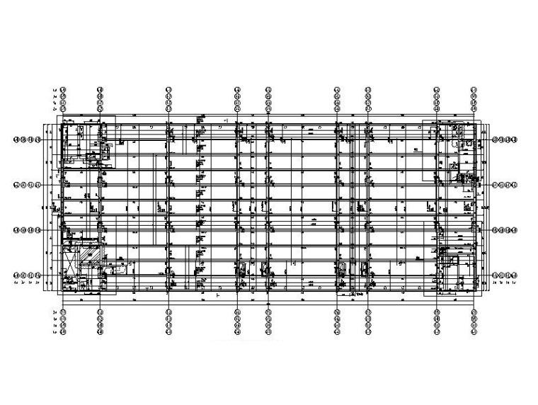绿建 框架/框剪/剪力墙云上数据中心全套图