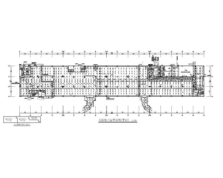 四层客运站给排水施工图