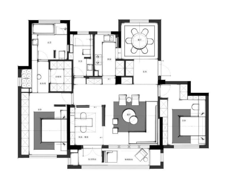 室内设计方案不出彩怎么办?_11