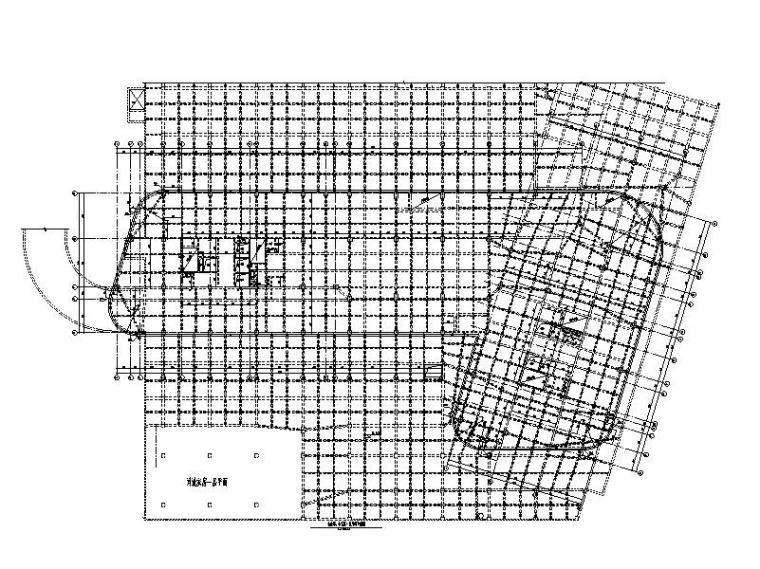 医院行政楼、专家楼框剪结构施工图2018