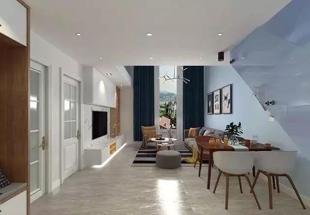 65平loft公寓北欧风,舒适而富有层次的婚房