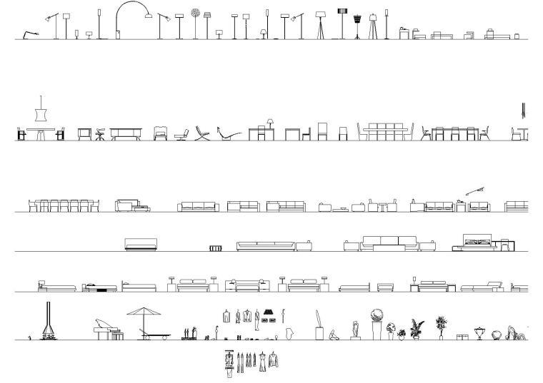 李玮珉公司内部最新CAD图库+打印样式