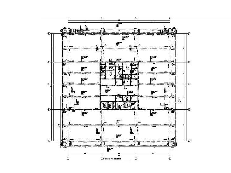 31层框架核心筒商业办公楼全套施工图2015